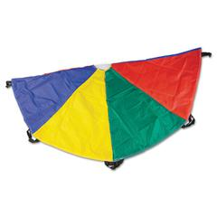 Nylon Multicolor Parachute, 20ft diameter, 8 Handles