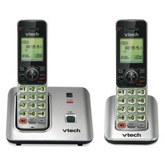 Vtech CS6619-2 Cordless Phone System, Base and 1 Additional Handset