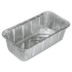 Aluminum Baking Pan, #2 Loaf, 8 x 3 7/8 x 2 19/32, 200/Carton