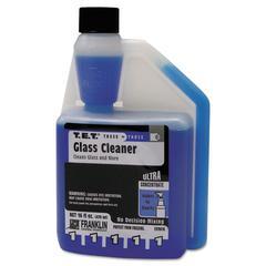 T.E.T. #1 Glass Cleaner, Clean Scent, Liquid, 16 oz. Bottle