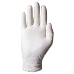 AnsellPro Dura-Touch 5 mil PVC Disposable Gloves, Small, Clear, 100/Box