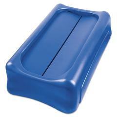 Slim Jim Swing Lid, 11.4w x 5h, Blue