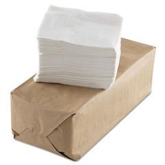 Tall-Fold Napkins, 1-Ply, White, Paper, 10000/Carton