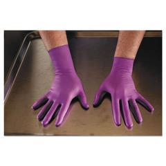 PURPLE NITRILE Exam Gloves, Large, Purple, 500/CT