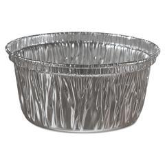 Handi-Foil of America Aluminum Baking Cups, 4 oz, 3 3/8 dia x 1 9/16h