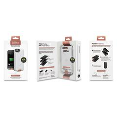 Duracell PowerSnap Kit for iPhone 5, 1950 mAh, White