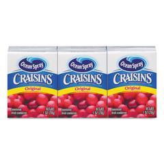 Craisins, Original Cranberry, 1 oz Box, 6/Pack