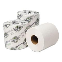 Wausau Paper EcoSoft Universal Bathroom Tissue, 1-Ply, 1,000 Sheets/Roll, 96 Rolls/Carton