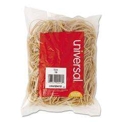 Universal Rubber Bands, Size 18, 3 x 1/16, 400 Bands/1/4lb Pack