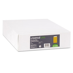 Universal Peel Seal Strip Catalog Envelope, 10 x 13, Kraft, 100/Box