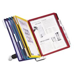 SHERPA Desk Reference System, 10 Panels, 10 x 5 5/8 x 13 7/8