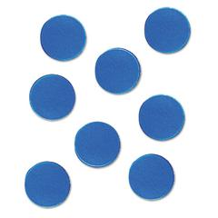 """Magnetic Characters, Magnetic, Blue, 3/4""""dia 20/Set"""
