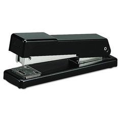 Swingline Compact Desk Stapler, Half Strip, 20-Sheet Capacity, Black