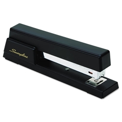 Swingline Premium Commercial Full Strip Stapler, 20-Sheet Capacity, Black