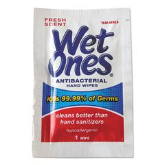 Antibacterial Moist Towelettes, 5 x 7 1/2, White, 1-Ply, 240 Wipes/Carton