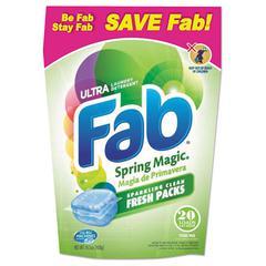 Fab Toss Ins, 20/Pack, 4 Packs/Carton
