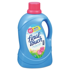 Final Touch Ultra Liquid Fabric Softener, 120oz Bottle