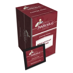 PapaNicholas Coffee Premium Coffee Pods, Breakfast Blend, 0.75 oz, 18/Box