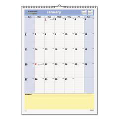 AT-A-GLANCE QuickNotes Wall Calendar, 12 x 17, 2017
