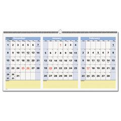 AT-A-GLANCE QuickNotes Three-Month Wall Calendar, Horizontal Format, 23 1/2 x 12, 2016-2018