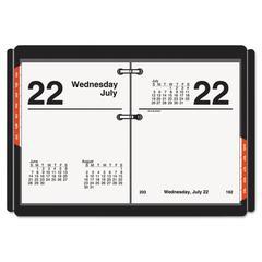 Compact Desk Calendar Refill, 3 x 3 3/4, White, 2017