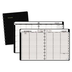 Move-A-Page Weekly/Monthly Appointment Book, 8 3/4 x 11, White, 2017