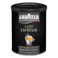 Caffe Espresso Ground Coffee, Medium Roast, 8 oz Can