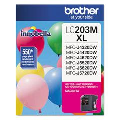 Brother LC203M Innobella High-Yield Ink, Magenta