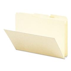 Smead Recycled Card Size File Folders, 1/3 Cut Top Tab, 9 x 6, Manila, 100/Box