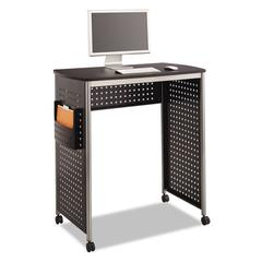 Scoot Stand-Up Workstation, 39 1/2w x 23 1/4d x 42h, Black