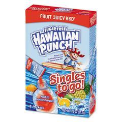 Drink Mix Singles, Fruit Juicy Red, 0.75 oz Stick, 96 sticks