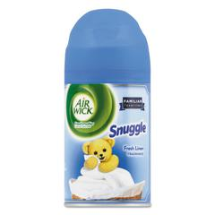 Freshmatic Ultra Spray Refill, Snuggle Fresh Linen, Aerosol, 6.17 oz, 6/Carton