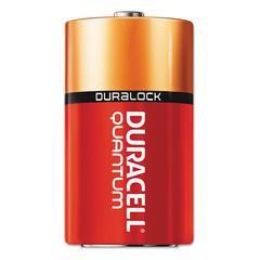 Quantum Alkaline Batteries with Duralock Power Preserve Technology, C, 12/Box