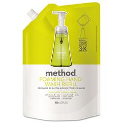 Foaming Hand Wash Refill, Lemon Mint, 28 oz Pouch
