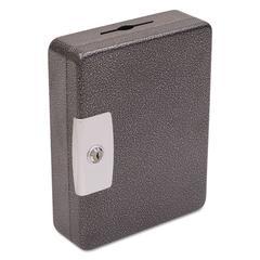 FireKing Hercules Key Cabinets Key Lock, 100-Key, Steel, Silver Vein