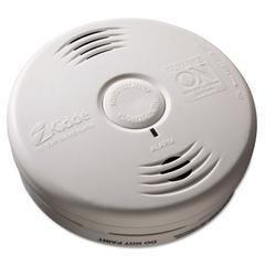 """Bedroom Smoke Alarm w/Voice Alarm, Lithium Battery, 5.22""""Dia x 1.6""""Depth"""