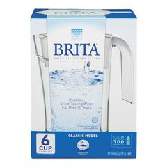 Classic Water Filter Pitcher, 48oz Capacity
