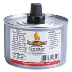 Chafing Fuel Can, Stem Wick, 4-6hr Burn, 8oz, 24/Carton