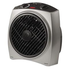 Bionaire Oscillating Heat Circulator, 1500W, Gray