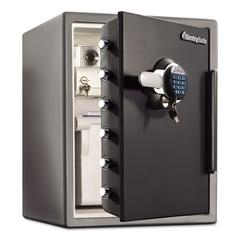 Sentry Safe Electronic Water-Resistant Fire-Safe, 2 ft3, 18 2/3 x 19 3/8 x 23 7/8, Black