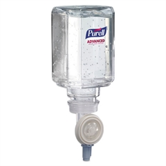 PURELL Advanced Instant Hand Sanitizer Gel Refill, 450mL, 6/Carton
