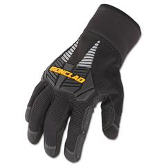 Ironclad Cold Condition Gloves, Black, X-Large