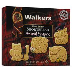Shortbread Animal Cookies, 6.2 oz Box