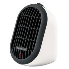 """Heat Bud Personal Heater, 250 W, 3 9/10"""" x 5 1/2"""" x 6 3/10"""", White"""