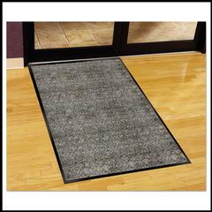 Guardian Silver Series Indoor Walk-Off Mat, Polypropylene, 36 x 60, Pepper/Salt