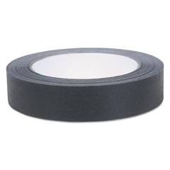 """Duck Color Masking Tape, .94"""" x 60 yds, Black"""