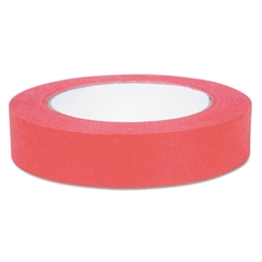"Duck Color Masking Tape, .94"" x 60 yds, Red"