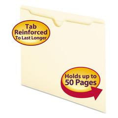 Smead Manila File Jackets, Letter, 11 Point, Manila, 100/Box