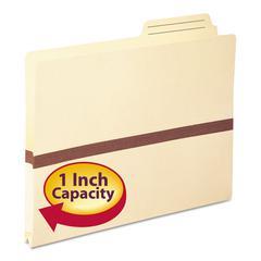 """1"""" Exp File Pocket, 2/5 Tab, Letter, Manila"""