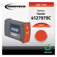 Innovera Compatible 4127979C (250) Postage Meter Ink, Red